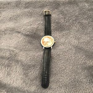 Fossil watch gorgeous face with liquid with dots